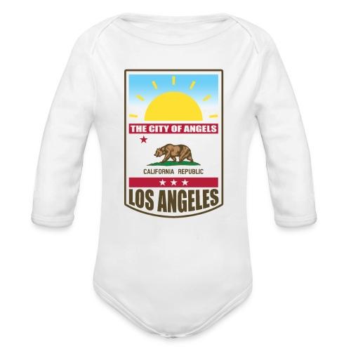 Los Angeles - California Republic - Organic Longsleeve Baby Bodysuit