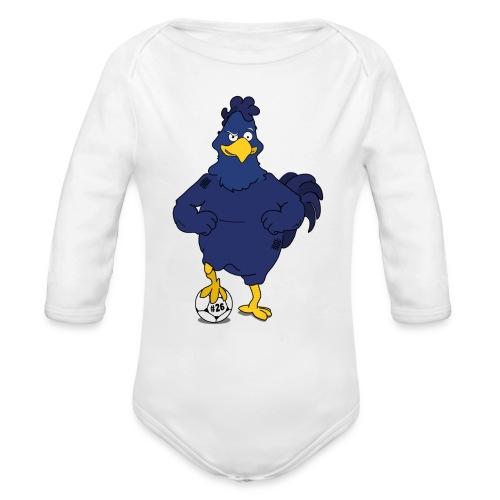 Ledley Kings knä Logo - Ekologisk långärmad babybody