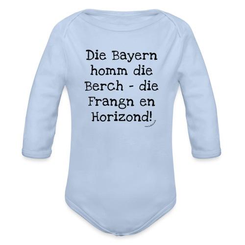 Horizond - Baby Bio-Langarm-Body