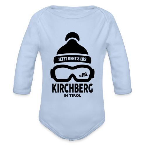 Après-ski Kirchberg - Baby bio-rompertje met lange mouwen