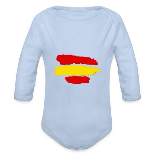 rayas de españa - Body orgánico de manga larga para bebé