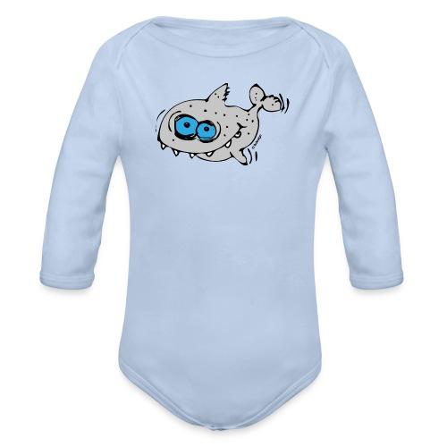 Sharky - Baby Bio-Langarm-Body