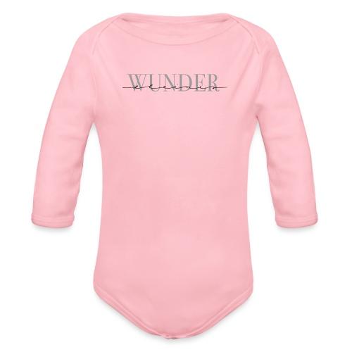 Kleines Wunder – Baby Kollektion - Baby Bio-Langarm-Body