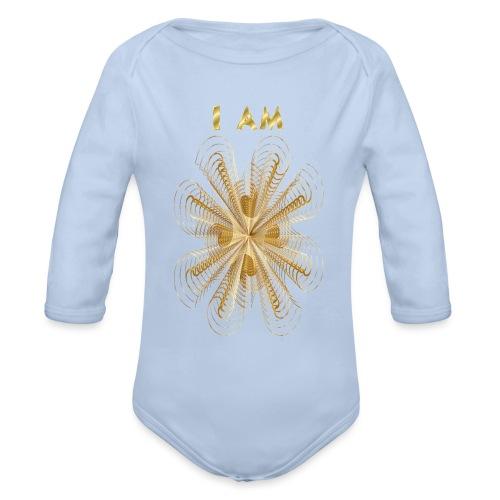 I AM - Body ecologico per neonato a manica lunga