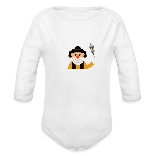 Clown - Baby Bio-Langarm-Body