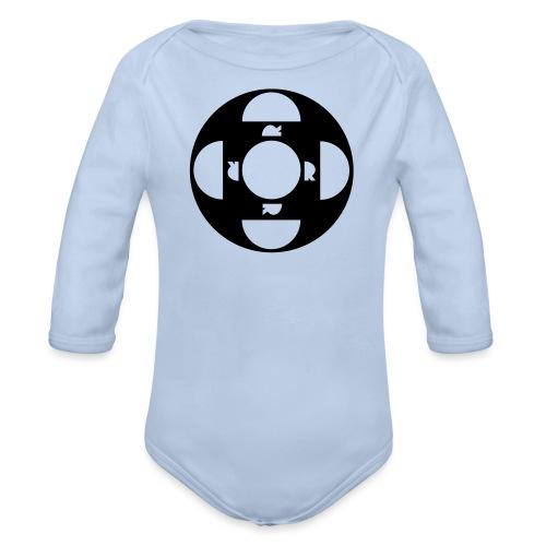 ORDTOMBOLA - Ekologisk långärmad babybody