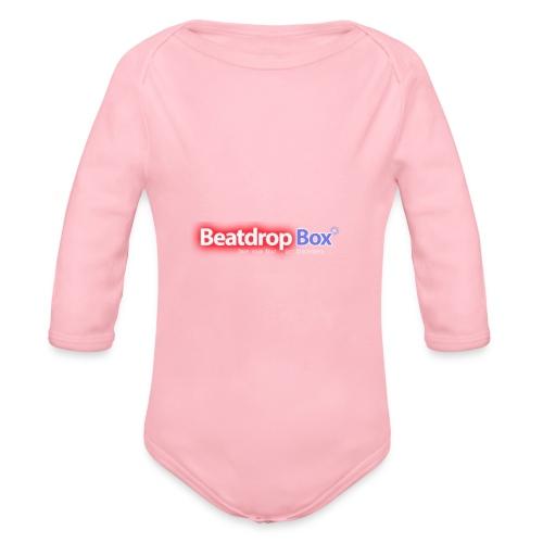 beatdropbox logo final and hires - Baby bio-rompertje met lange mouwen