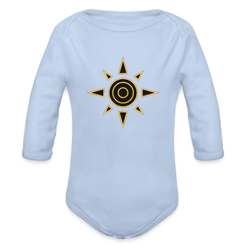 digimon 01 - Body orgánico de manga larga para bebé