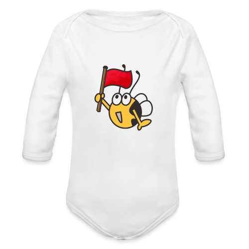 Fahnenträger - Baby Bio-Langarm-Body