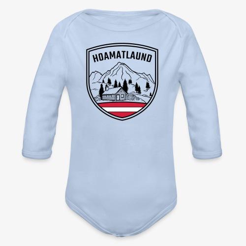 Hoamatlaund logo - Baby Bio-Langarm-Body