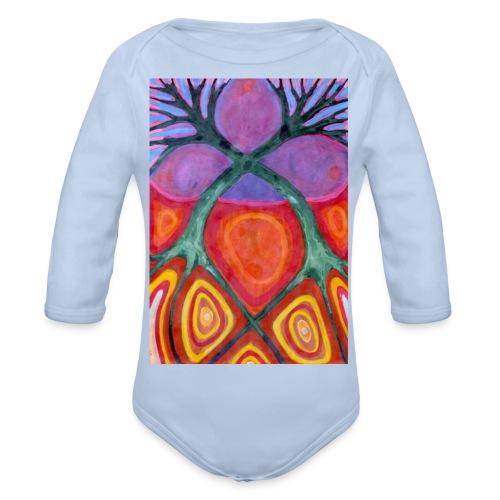 Do Siebie - Ekologiczne body niemowlęce z długim rękawem