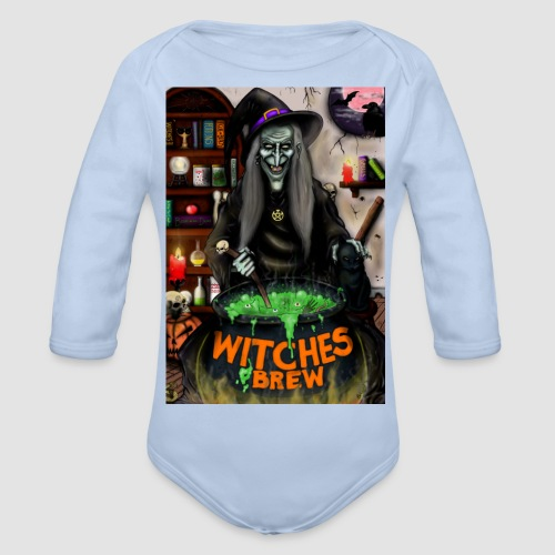 The Witch - Organic Longsleeve Baby Bodysuit