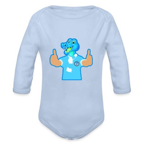 Cool Crock - Organic Longsleeve Baby Bodysuit