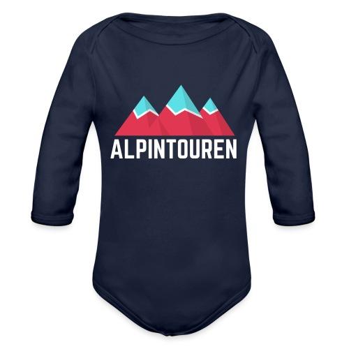 Alpintouren Logo - Baby Bio-Langarm-Body