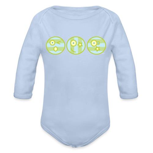 Smile multi4 - Baby bio-rompertje met lange mouwen