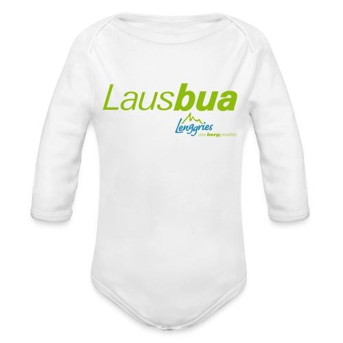 Lausbua 1 Kinder - Baby Bio-Langarm-Body