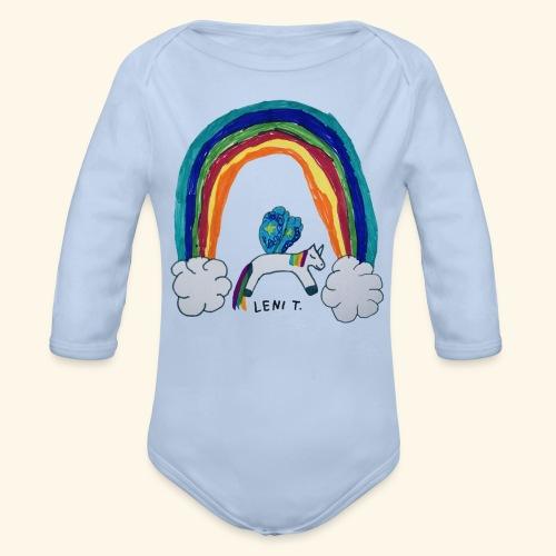 LeniT For Unicorns Only - Vauvan pitkähihainen luomu-body