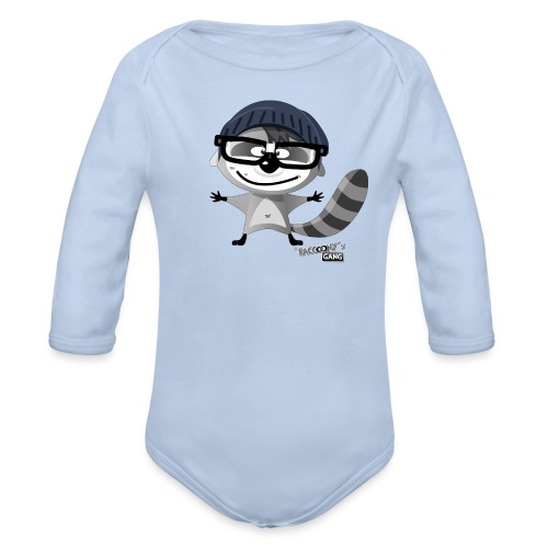racconys gang nerdy png - Baby Bio-Langarm-Body