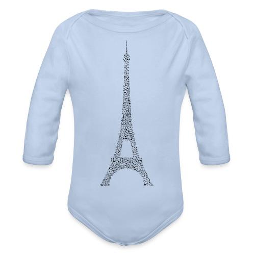 Eifelturm Paris - Baby Bio-Langarm-Body