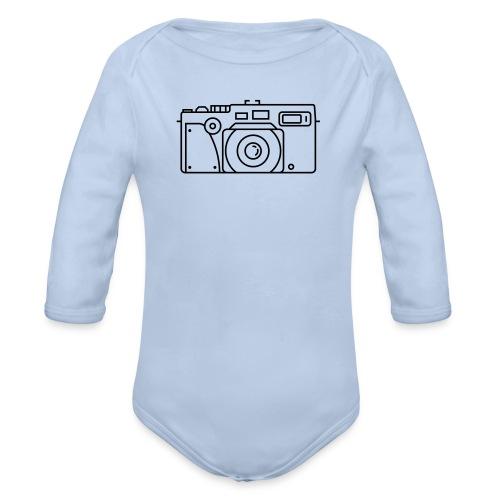 fuji tx 2 - Organic Longsleeve Baby Bodysuit