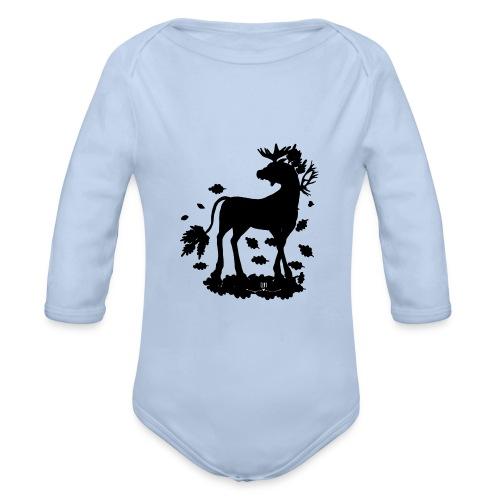 Energiewesen Alcunia - Baby Bio-Langarm-Body