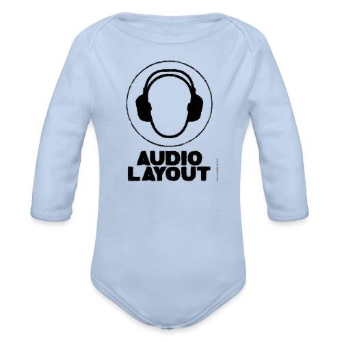 logo AL headphoneman png - Baby Bio-Langarm-Body