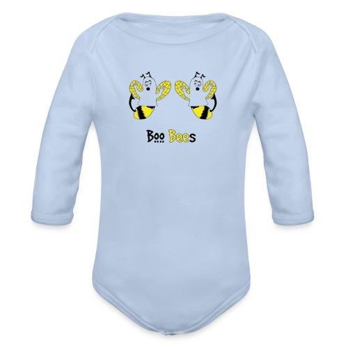 Boo Bees Halloween - Vauvan pitkähihainen luomu-body