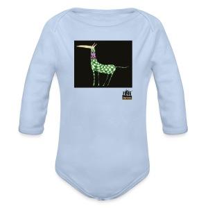 79 For kids 014 - Body orgánico de manga larga para bebé