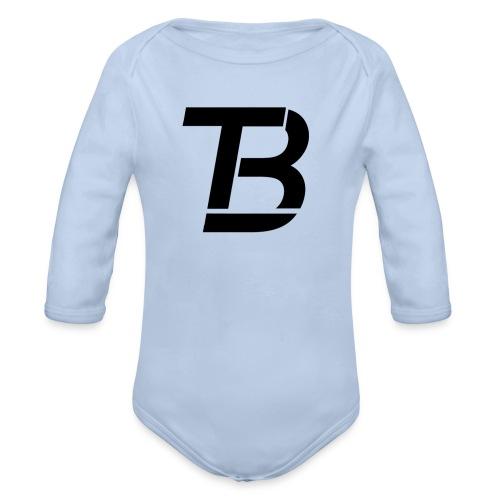 brtblack - Organic Longsleeve Baby Bodysuit