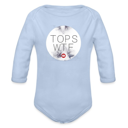 Official TOPS WTF T-Shirt - Organic Longsleeve Baby Bodysuit