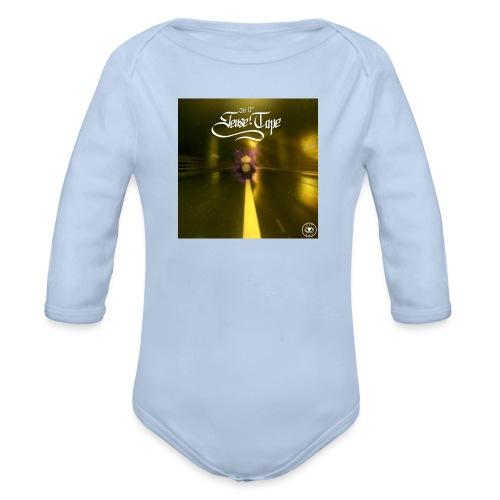 the 2nd sense tape jpg - Organic Longsleeve Baby Bodysuit