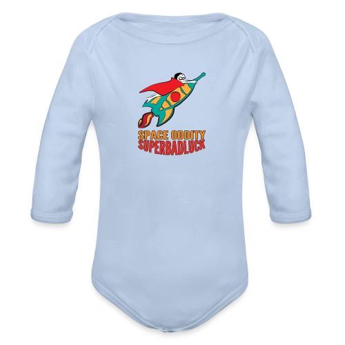 superbadluck - SPACEODDITY - Body ecologico per neonato a manica lunga