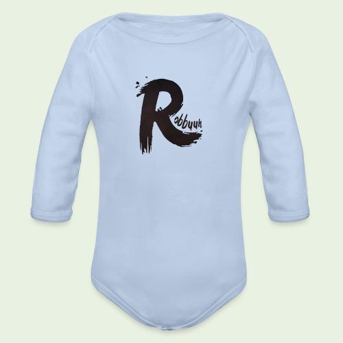 Hoodie Robbuuh (M/V) - Baby bio-rompertje met lange mouwen