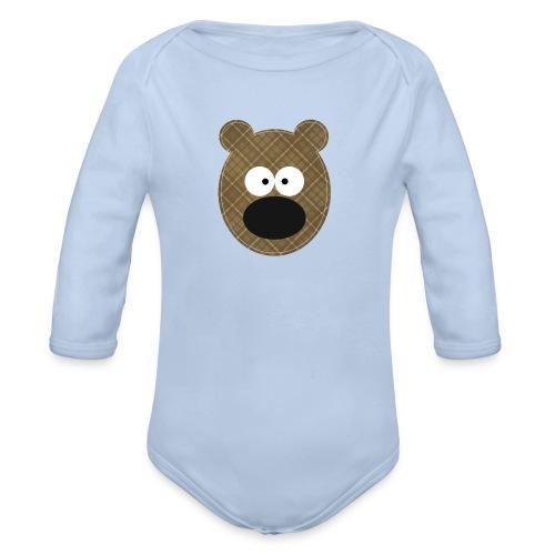 Little Bear - Body ecologico per neonato a manica lunga