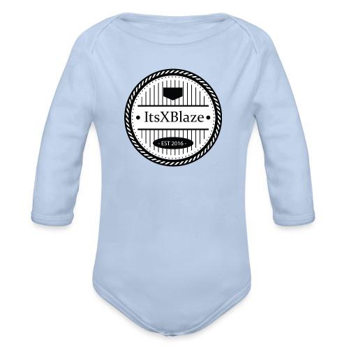 ItsXBlaze Logo 3 Hoodie - Baby bio-rompertje met lange mouwen