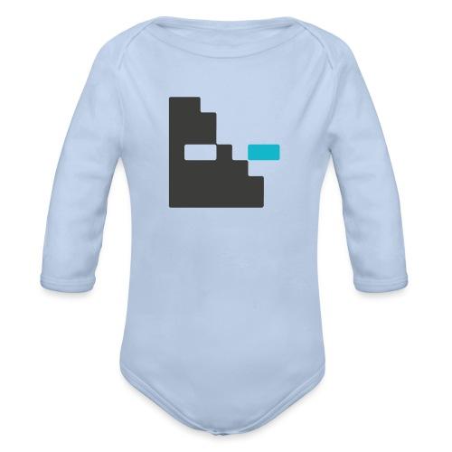 Mortu Logo - Baby bio-rompertje met lange mouwen