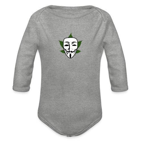 Anonymous - Baby bio-rompertje met lange mouwen
