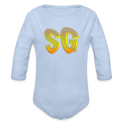 SG Uomo - Body ecologico per neonato a manica lunga