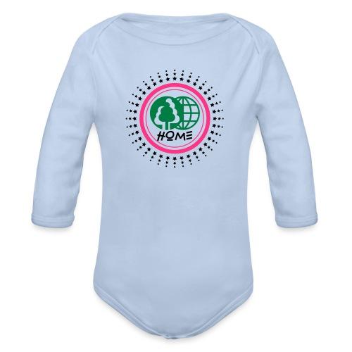 Planète home sweet home - Organic Longsleeve Baby Bodysuit