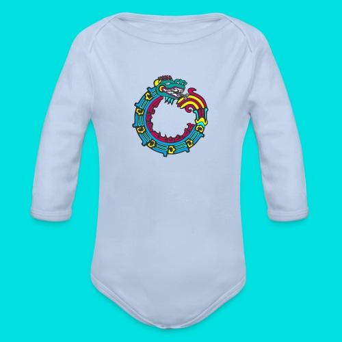 aztek - Body orgánico de manga larga para bebé