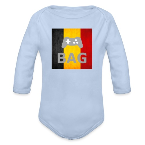 BelgiumAlpha Games - Organic Longsleeve Baby Bodysuit