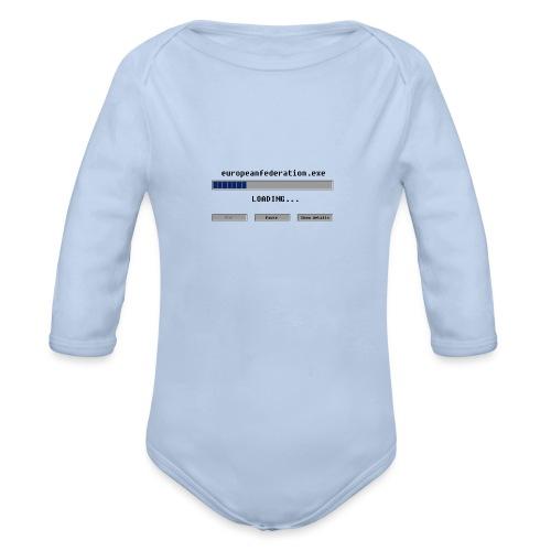 europeanfederation.exe - Organic Longsleeve Baby Bodysuit