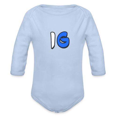 Offical Coloured Design - Organic Longsleeve Baby Bodysuit