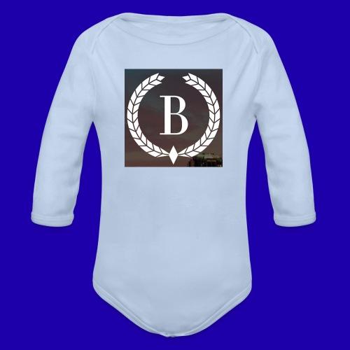 Brosherden - Økologisk langermet baby-body