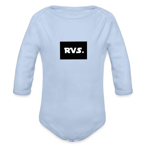 RVS - Baby bio-rompertje met lange mouwen
