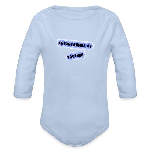 AntonyGames05 - Baby bio-rompertje met lange mouwen