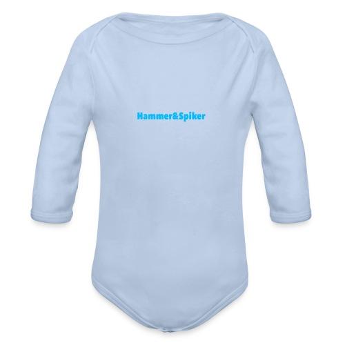 hammer og spiker baby collection - Økologisk langermet baby-body