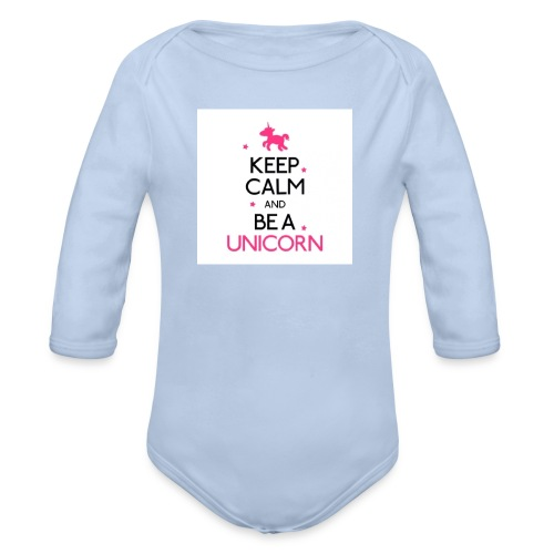 16050478-width-250-height-250-keep-calm-and-be-a-u - Body ecologico per neonato a manica lunga