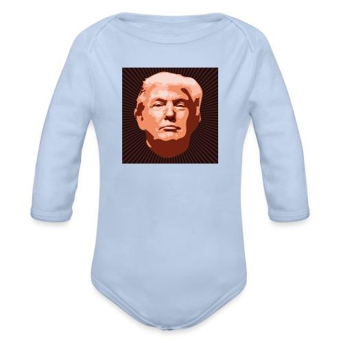 Trumpface - Baby Bio-Langarm-Body
