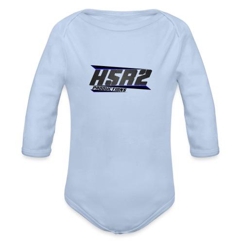 Sweater met logo - Baby bio-rompertje met lange mouwen